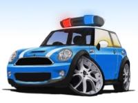 Флеш игра Припаркуй полицейскую машину
