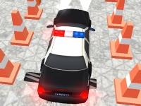 Флеш игра Припаркуй полицейскую тачку