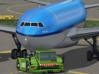 Флеш игра Припаркуй самолет