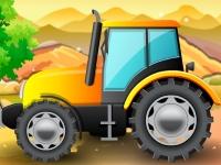 Флеш игра Припаркуй свой трактор