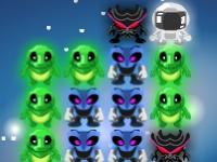 Флеш игра Пришельцы против астронавта