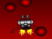 Флеш игра Приземление на Марсе