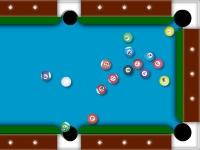 Флеш игра Проблемный бильярд