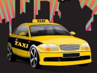 Флеш игра Профессиональная парковка такси в Нью-Йорке