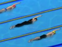 Флеш игра Профессиональное плавание