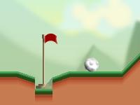 Флеш игра Профессиональный мини гольф