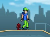 Флеш игра Профессиональный скейтбордист