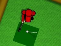 Флеш игра Простой мини гольф