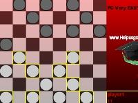 Флеш игра Простые шашки