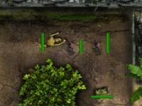 Флеш игра Противостояние зомби башен