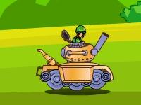 Флеш игра Противовоздушный танк