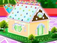 Флеш игра Пряничный домик на Новый Год