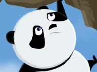Флеш игра Прыгай, панда