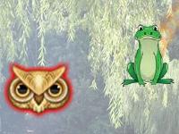 Флеш игра Прыгающая лягушка