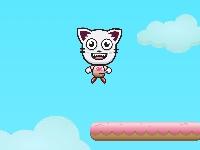 Флеш игра Прыгающий котик