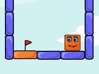 Флеш игра Прыгающий куб: Ремейк