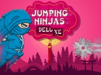 Флеш игра Прыгающий ниндзя