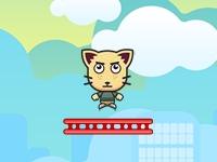Флеш игра Прыгучий кот