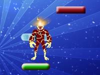 Флеш игра Прыжки Человека-Огня