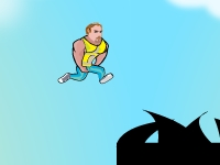 Флеш игра Прыжки Пабло