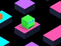 Флеш игра Прыжки куба