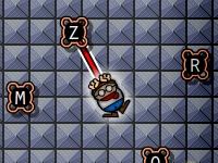 Флеш игра Прыжки по буквам
