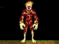 Флеш игра Прыжок Человека-огня