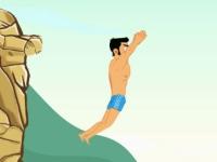 Флеш игра Прыжок со скалы в воду
