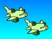 Флеш игра Пушка против самолетов
