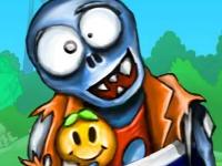 Флеш игра Пушка зомби 2