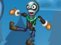 Флеш игра Пушка зомби: Зимние уровни