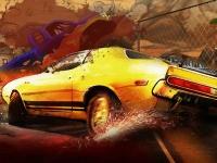Флеш игра Пустынная гонка 3D