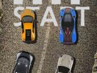 Флеш игра Пустынная гонка на суперкарах