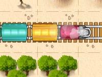 Флеш игра Путь поезда