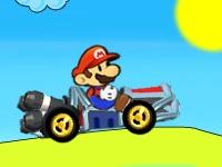 Флеш игра Путешествие Марио на карте