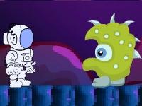 Флеш игра Путешествие космонавта 4