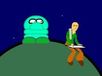 Флеш игра Путешествие по планетам
