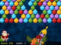 Флеш игра Пузыри: Новогоднее обновление