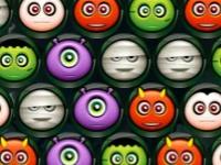 Флеш игра Пузыри на Хэллоуин