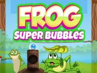 Флеш игра Пузыри с лягушкой