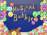 Флеш игра Пузыри с нотами