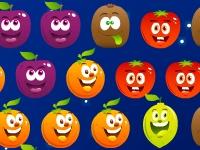 Флеш игра Пузыри в виде фруктов