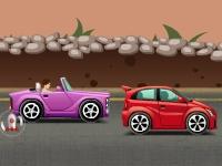 Флеш игра Ракетный обстрел на дороге