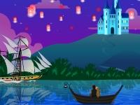 Флеш игра Рапунцель: Увидеть огоньки