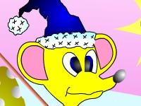 Флеш игра Раскрась мышь