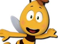 Флеш игра Раскрась пчел