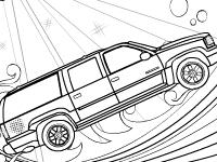 Флеш игра Раскраска супер машины
