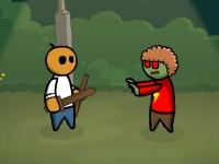 Флеш игра Расплата зомби: Железо и Магия