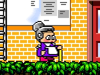 Флеш игра Раста бабушка