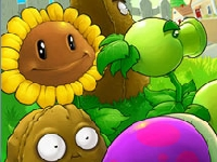 Флеш игра Растения против Зомби